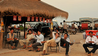 Afternoon drinks along the river, Siem Reap, Cambodia