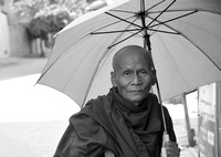 Monk in Phnom Penh