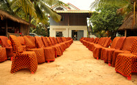 Wedding chairs, Siem Reap, Cambodia