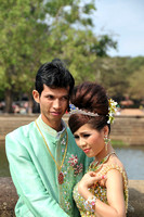 Wedding portrait, Hanoi, Vietnam