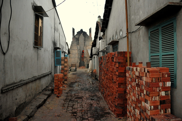 This is a typical small brick factory.  There are several in the Chau Phu area.