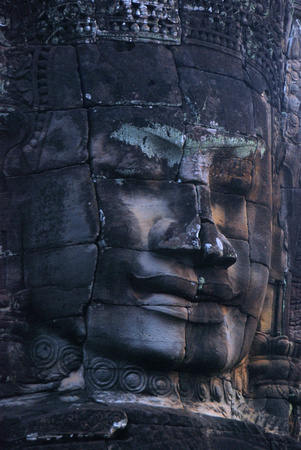 Tower head, Bayon, Cambodia